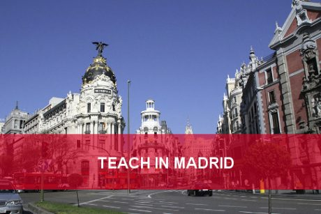 teach english in madrid