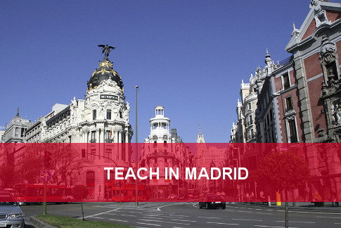 teach english in madrid