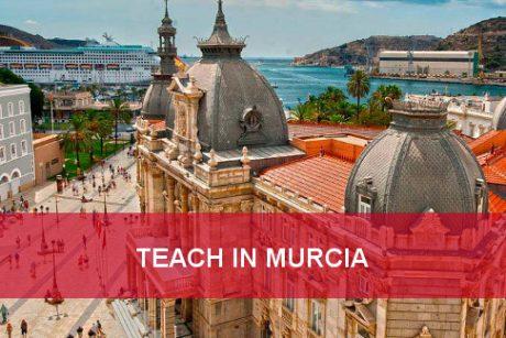 teach english in murcia
