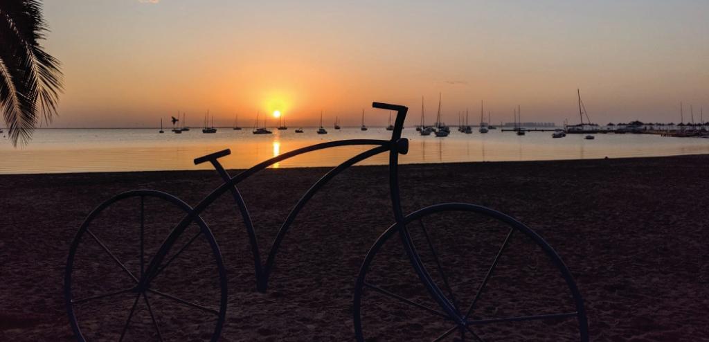 Sunset in Murcia