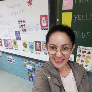 Dinah Echiverri Auxiliar de Conversación in Madrid