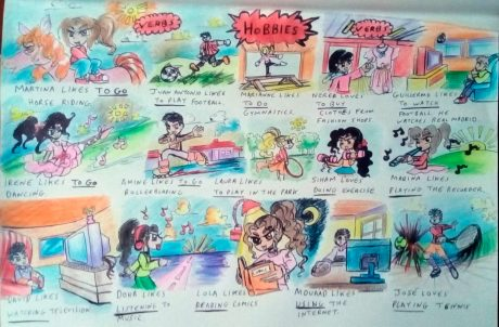 Hobbies exercises sheet