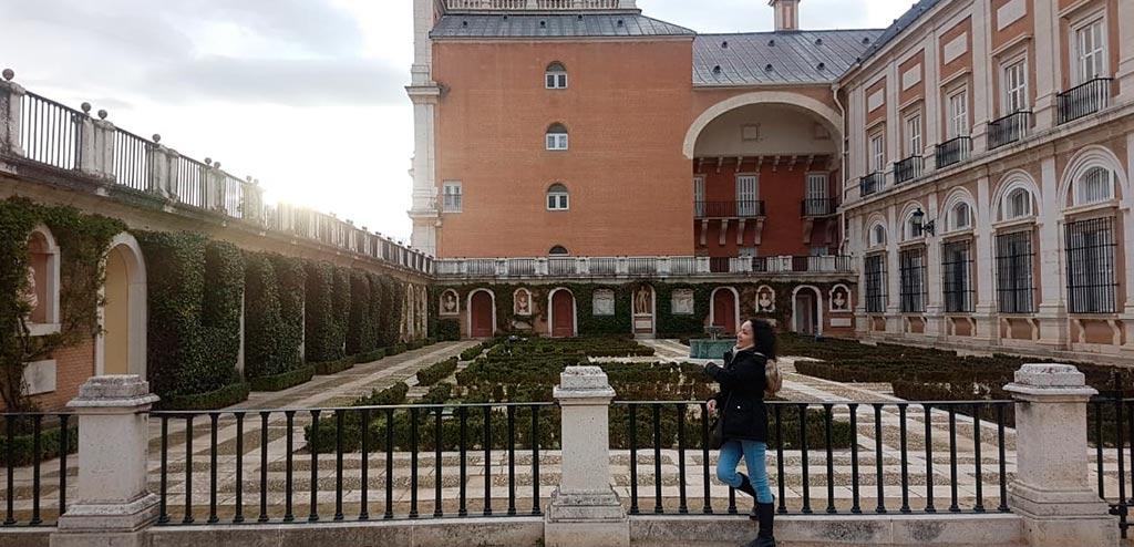 Dinah in Spain