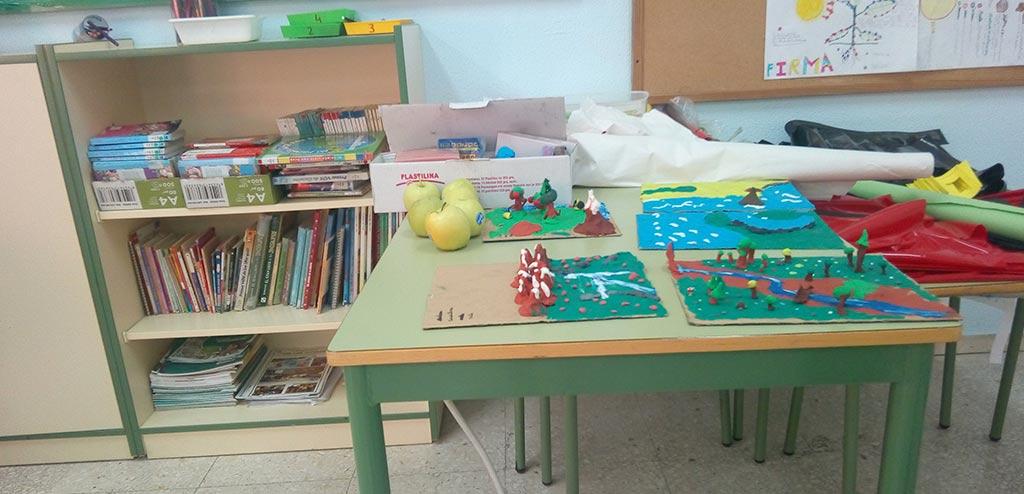 English class in Spanish Public schools