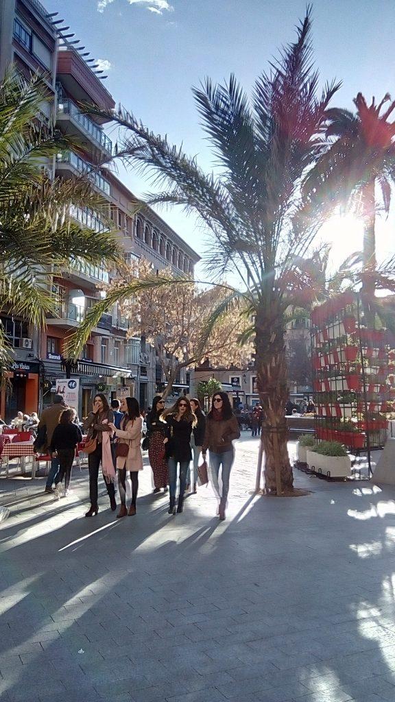 Walking in Murcia during COVID