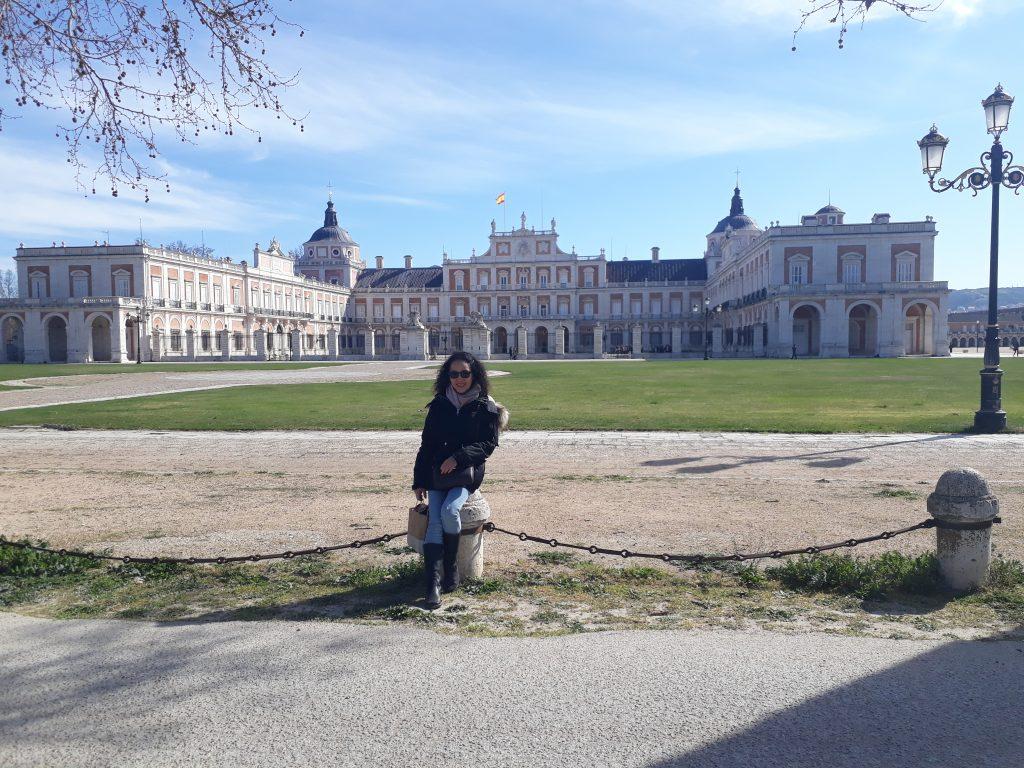 The Royal Palace views in aranjuez